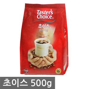 최저특가 초이스 오리지날 리필 커피 500g 자판기