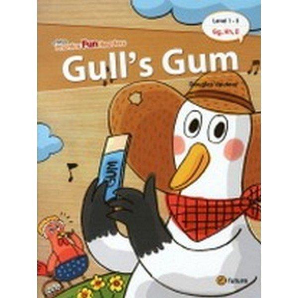Phonics Fun Readers 1-3 : Gull's Gum (Paperback  CD 1 포함)-Phonics Fun Readers