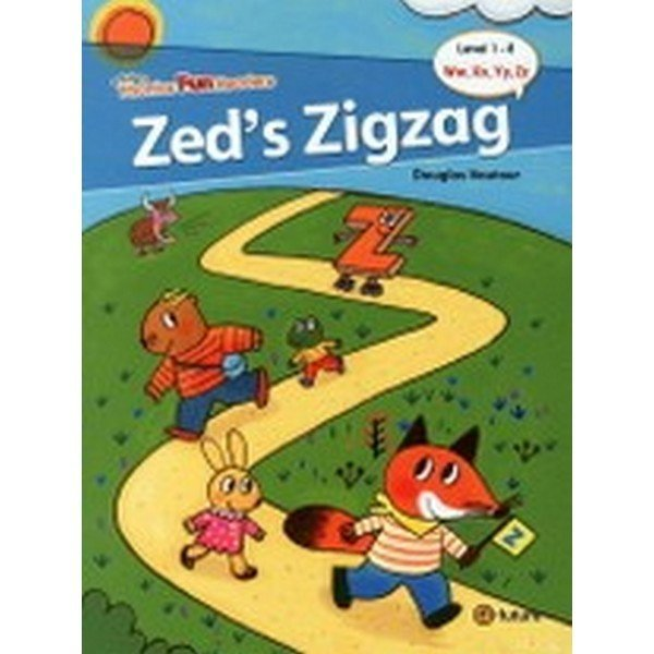 Phonics Fun Readers 1-8 : Zed's Zigzag (Paperback  CD 1 포함)-Phonics Fun Readers