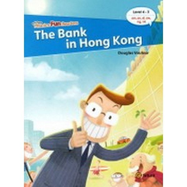 Phonics Fun Readers 4-3 : The Bank in Hong Kong (Paperback  CD 1 포함)-Phonics Fun Readers