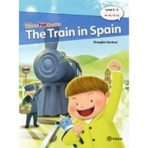 Phonics Fun Readers 5-2 : The Train in Spain (Paperback  CD 1 포함)-Phonics Fun Readers