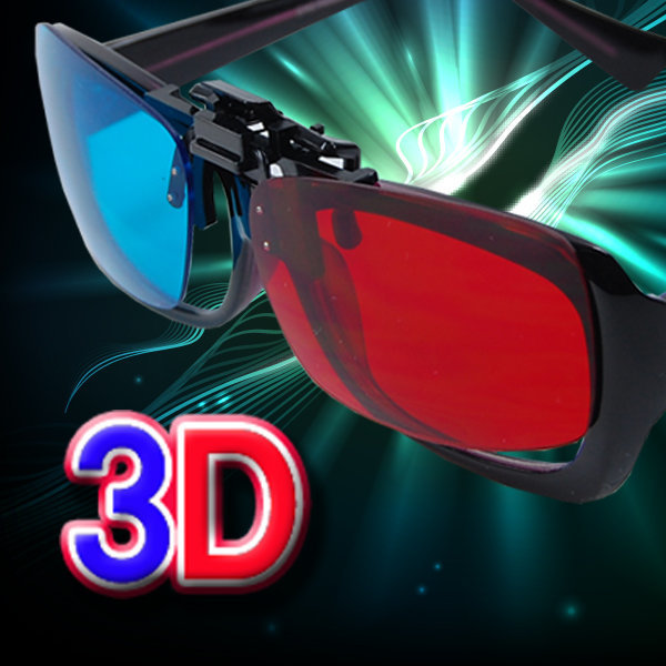 에너글리프 방식 3D 적청안경 3D안경 체험학습