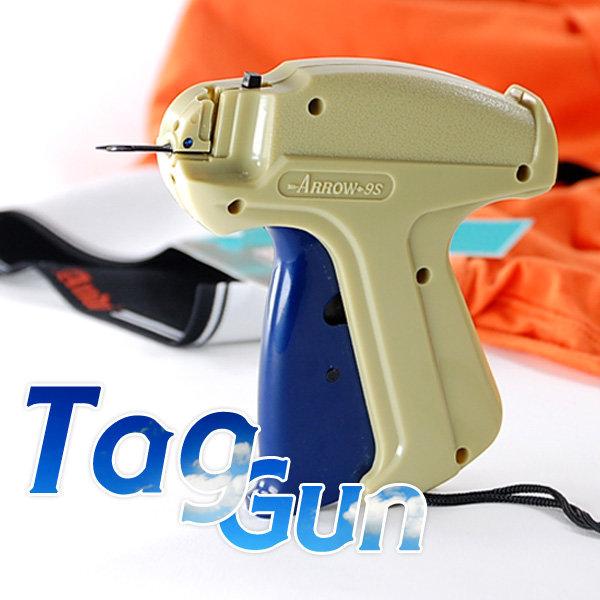 각종 상표라벨 자동부착 권총 tag gun 택핀 택건 라벨