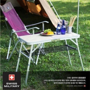 스위스밀리터리 미니 와이드 캠핑 테이블 (SM-KA-T-107506)