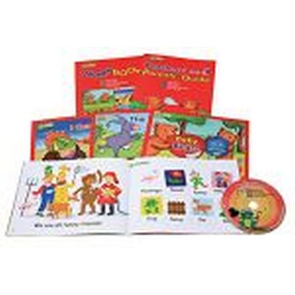 Jack and Jill s Phonics Reading Level 1  1st Set (Storybooks+Workbook+Teacher s Guide+Auido CD)