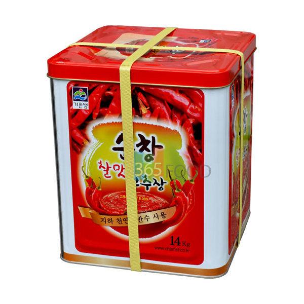 기픈샘 순창 찰맛 고추장 14kg