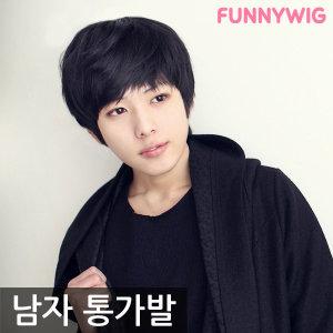 옌예인스타일 얼짱 남자가발/자유로운 스타일링/군인