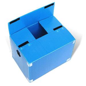 단프라박스AB형자동박스 (소) 이사박스/플라스틱/수납