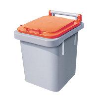 음식물쓰레기통40리터/음식물분리수거함/가정용음식물