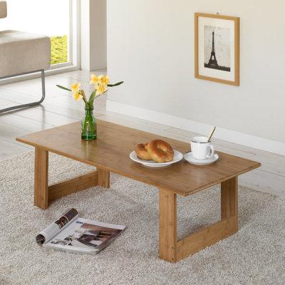 대나무 접이식 테이블[100x48cm] 대나무원목 접이식 테이블/젠 ...