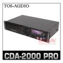 TOSAUDIO CDA2000PRO/CD플레이어/USB플레이어 리모콘