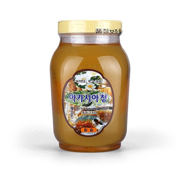 청림 아카시아청 2.4kg 물엿 올리고당 아카시아 꿀