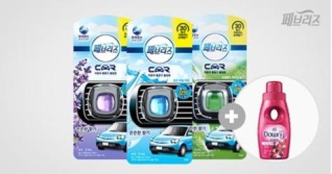 페브리즈 차량용방향제2ml*3+사은품