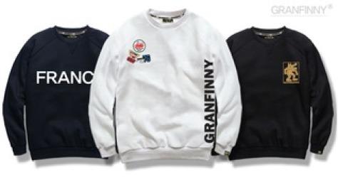 2018 F/W 무료배송 맨투맨 티셔츠