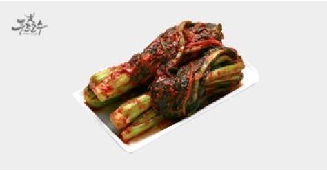 100%국내산 갓김치 2kg 2개구매 석박지증정