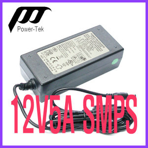 12V5A SMPS 파워텍 아답터 어댑터 SW60-12005000-W