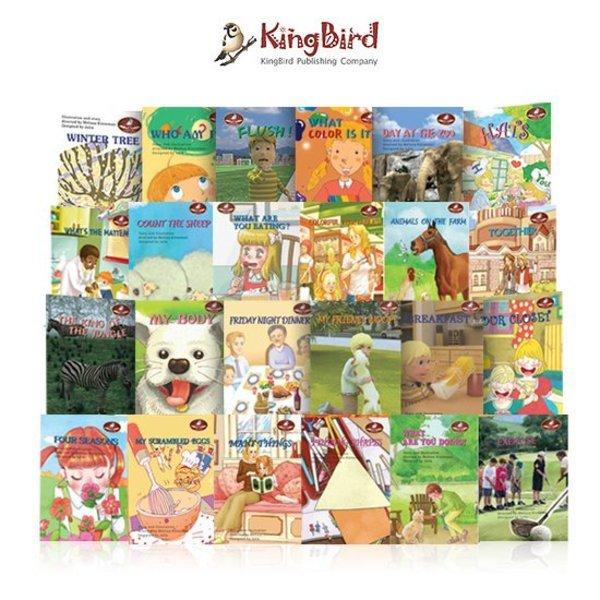 킹버드 킹버드 리더스북 영어원서 동화책-Preschool레벨(전24권