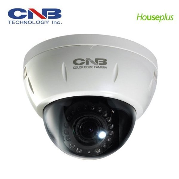 CNB  IDP4000VR 적외선돔카메라 IP카메라 가변렌즈 IR18개 / CCTV DVR 감시카메라
