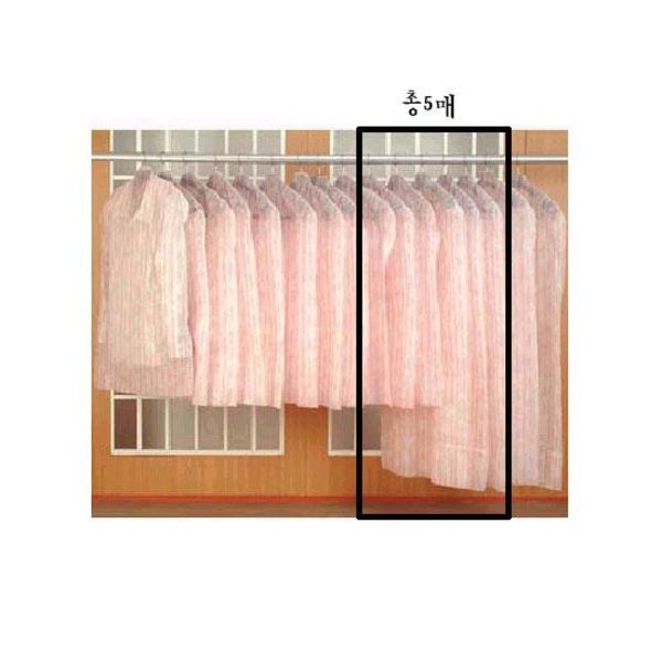 무료배송/실속세트 옷커버 기계식 보급형 세트(양복3+코트2P)
