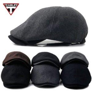 디꾸보 패션 Simple모직 헌팅캡 모자