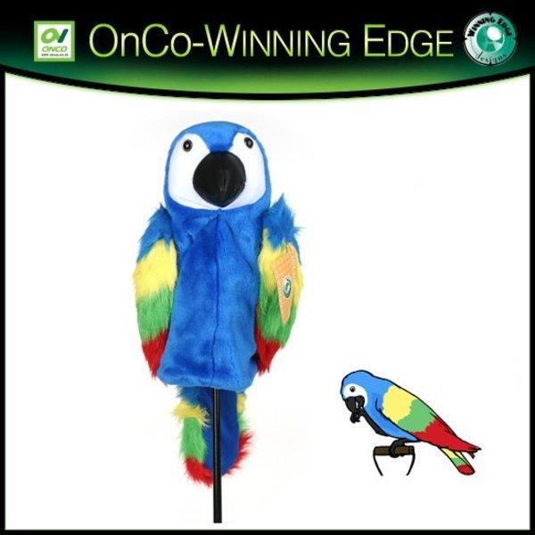 온코-미국 위닝에지 패롯 블루(Parrot Blue)앵무새 골프 헤드커버 드라이버용