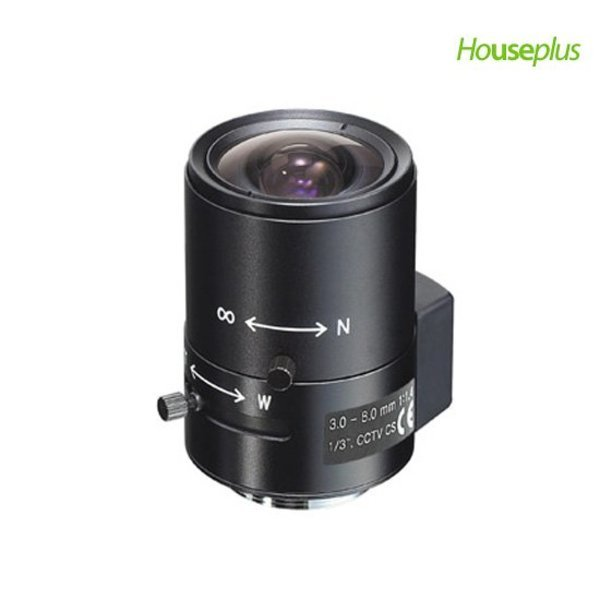 대원전광  DW3080D 수동줌렌즈 가변렌즈 CCTV렌즈 3.0~8mm / DVR 감시카메라