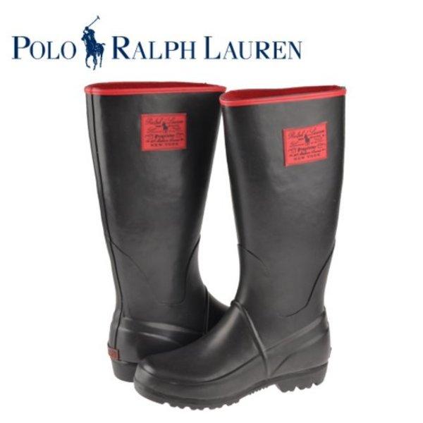 폴로(POLO) 레인부츠 여성용 PROPRIETOR BLACK RED 90702DC-W