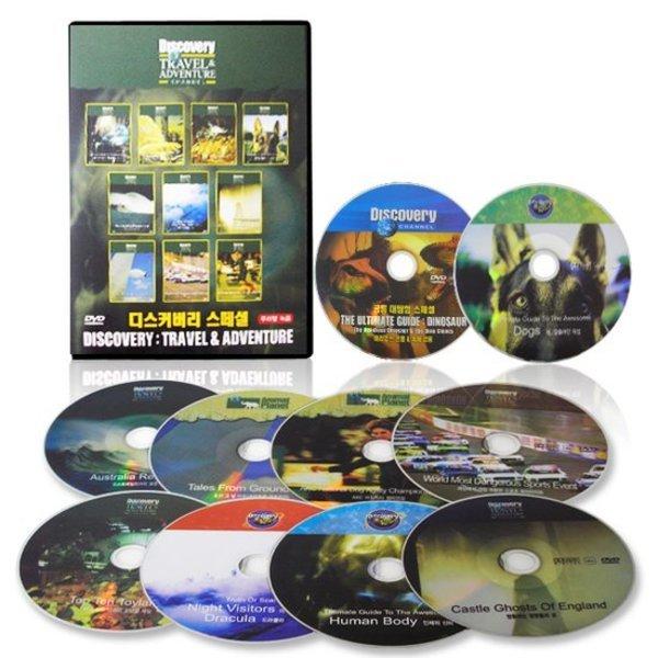 DISCOVERY 다큐멘터리  모험과 여행(Travel   Adventuer) DVD 10장 풀세트/고화질/한영 더빙+자막