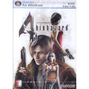 (PC-DVD) 바이오 하자드 4 (한글판)