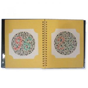 한의료기  한식색각검사표(색맹검사) - 중고등용
