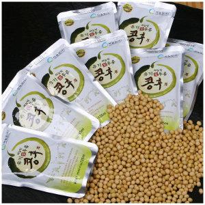 유기농 두유 135ml x 20포 / 무첨가 전두유