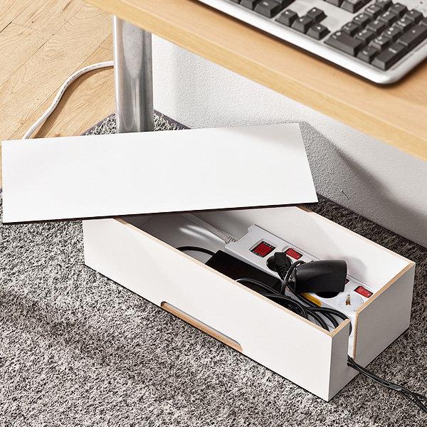 케이블정리함 전선정리 멀티탭 콘센트 책상정리