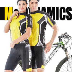 Mc.DYNAMICS-자전거의류-MC04옐로우-상의하의쎄트판매