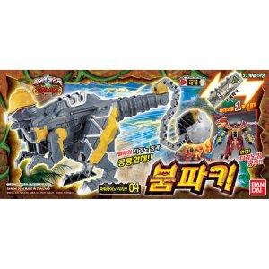 반다이 파워레인저 다이노포스 공룡합체 04 붐파키