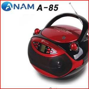 아남 USB/SD카드인식 CD포터블 카세트 A-85 MP3CD지원