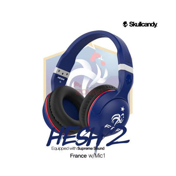 스컬캔디 헤드폰/ HESH2 FRANCE 헤쉬2 월드컵 /정품