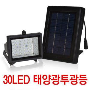 30LED 태양광 투광등/태양열/정원등/가로등/쏠라등