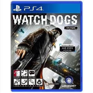 PS4 와치독스/정식발매/상태좋은중고/와치독