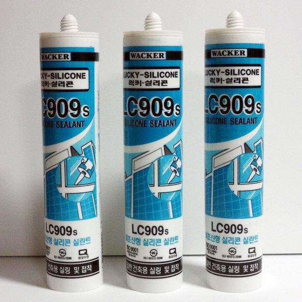 미성실란트/럭키실리콘/LC909S/무초산실리콘