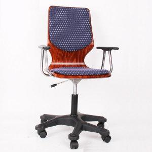 원목하이팩606/회전식의자/학생의자/사무의자