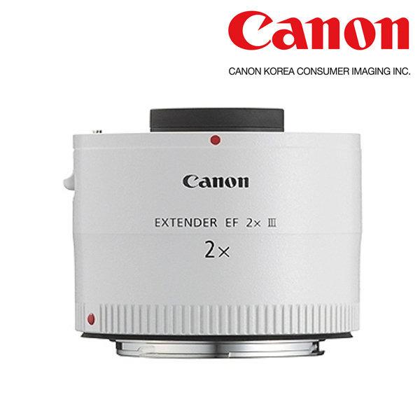 (캐논공식총판) 최신정품 Extender EF 2x III 빛배송