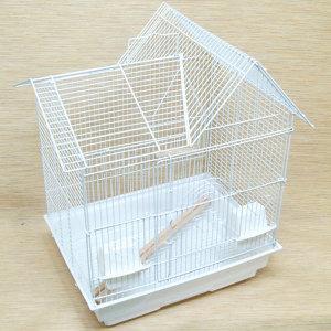 3007 화이트 새장 앵무새 다람쥐 잉꼬 모란 새 중형