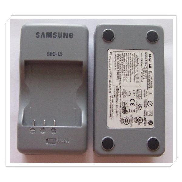 삼성 정품 배터리충전기 SBC-L5 (SLB-0837 0737 충전)