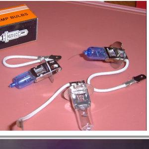 낱개 안개등 전구 H3 55W  전구 낱개판매