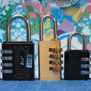 C171/번호자물쇠/3종/다이얼자물쇠/자물쇠/번호열쇠