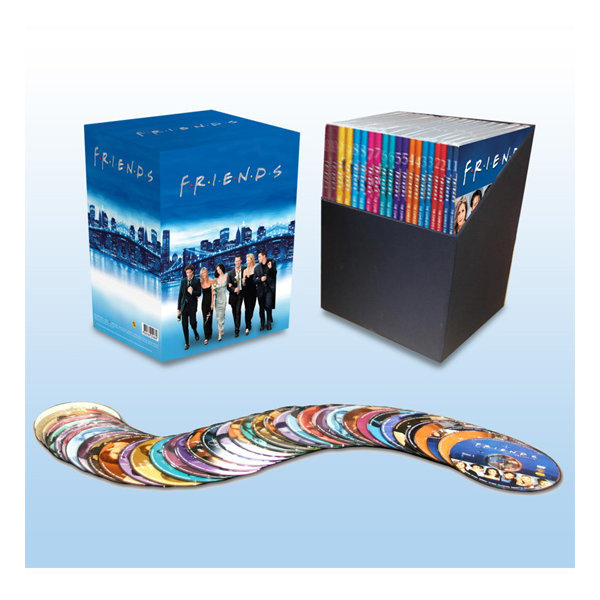 DVD  프렌즈 풀박스 (40disc)- Friends. Blue New Package