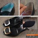 뒤꿈치 발 보호 패드 미끄럼방지 깔창 신발 구두 풋