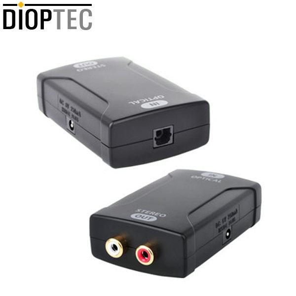 디옵텍 디지털 - 아날로그 컨버터/DA-880/24bit 96kHz