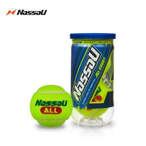 낫소 올코트 테니스공/T250 경기용 테니스시합구/1캔