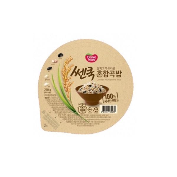 동원 쎈쿡 혼합곡밥 210g (36개) 무료배송